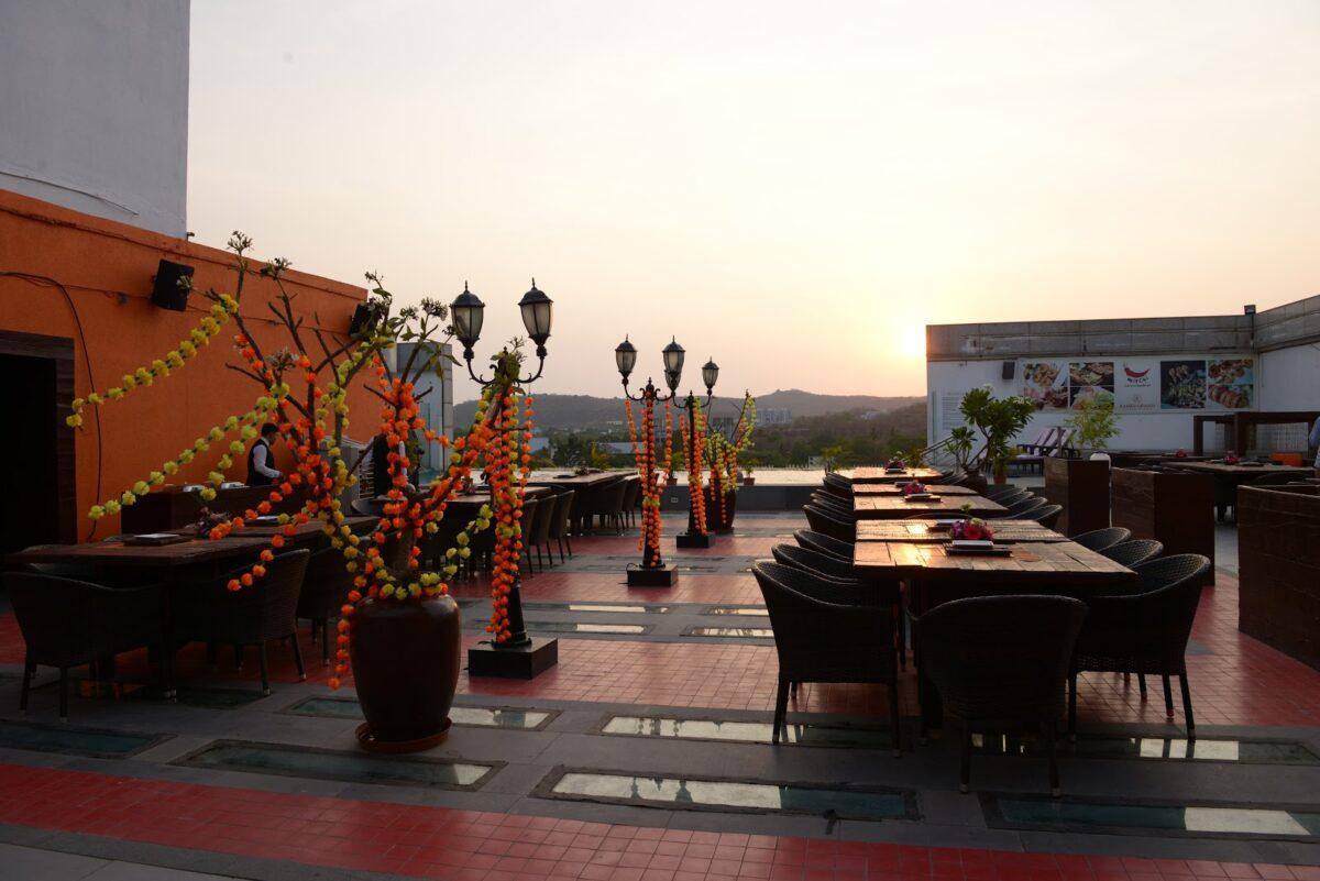 Pune, sunset, windy, evening, venue